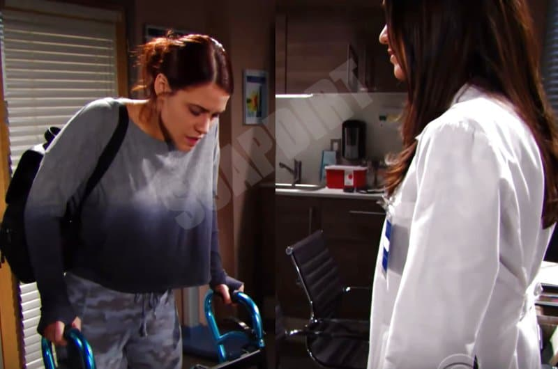 Bold and the Beautiful Spoilers: Sally Spectra (Courtney Hope) - Dr Penny Escobar (Monica Ruiz)