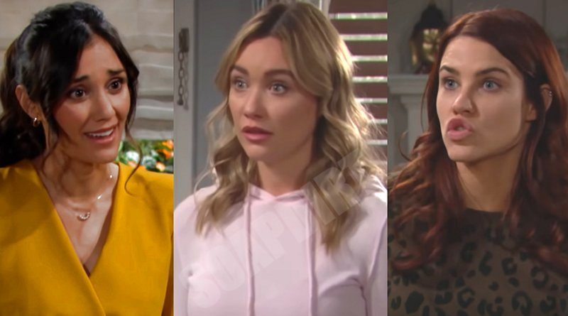 Bold and the Beautiful Spoilers: Flo Fulton (Katrina Bowden) - Sally Spectra (Courtney Hope) - Penny Escobar (Monica Ruiz)