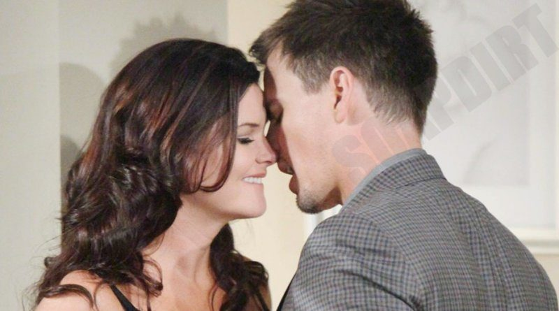 Bold and the Beautiful: Wyatt Spencer (Darin Brooks) - Katie Logan (Heather Tom)