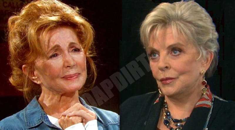 Days of Our Lives Spoilers: Maggie Horton (Suzanne Rogers) - Julie Williams (Susan Seaforth Hayes)