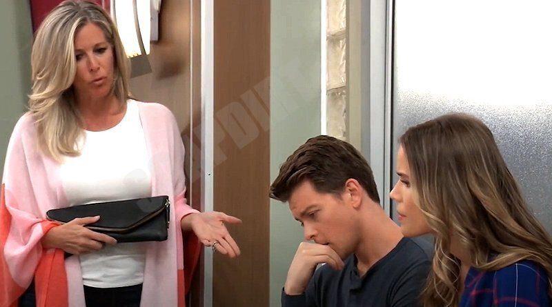 General Hospital Spoilers: Carly Corinthos (Laura Wright) - Michael Corinthos (Chad Duell) - Sasha Gilmore (Sofia Mattsson)