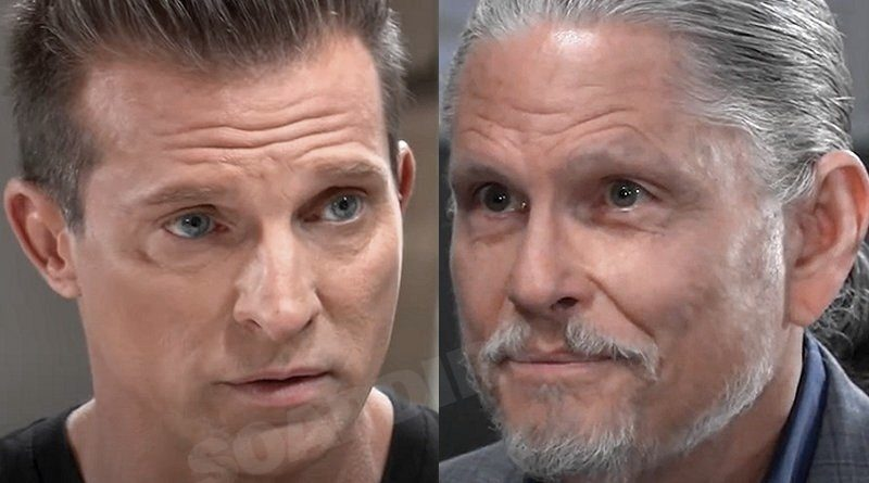 General Hospital Spoilers: Cyrus Renault (Jeff Kober) - Jason Morgan (Steve Burton)