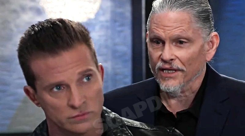 General Hospital Spoilers: Jason Morgan (Steve Burton) - Cyrus Renault (Jeff Kober)