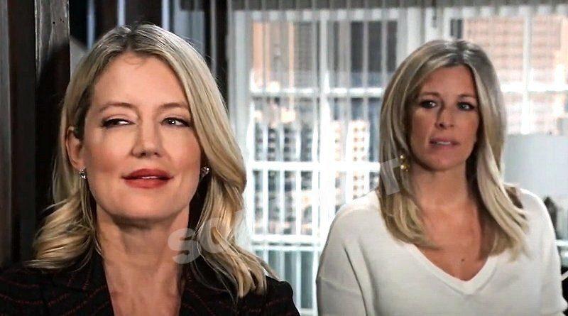 General Hospital Spoilers: Nina Reeves (Cynthia Watros) - Carly Corinthos (Laura Wright)