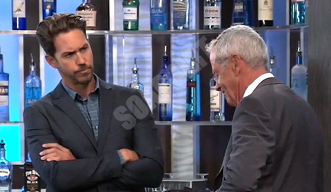 General Hospital Spoilers: Peter August (Wes Ramsey) - Robert Scorpio (Tristan Rogers)