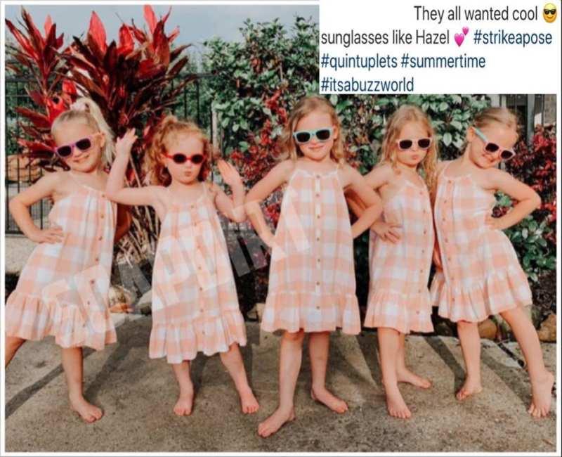 OutDaughtered: Hazel Busby - Ava - Parker - Olivia - Riley