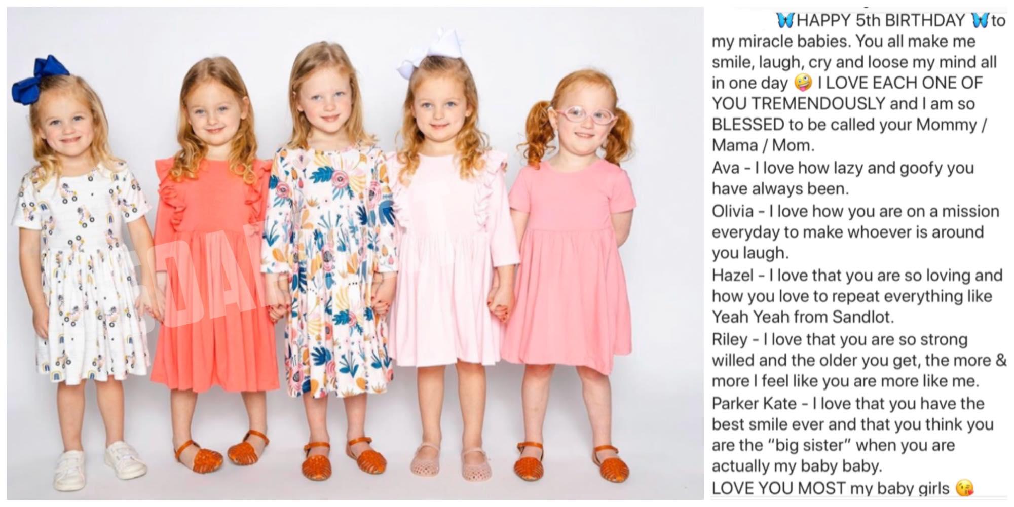 OutDaughtered: Riley Busby - Ava - Parker - Olivia - Hazel