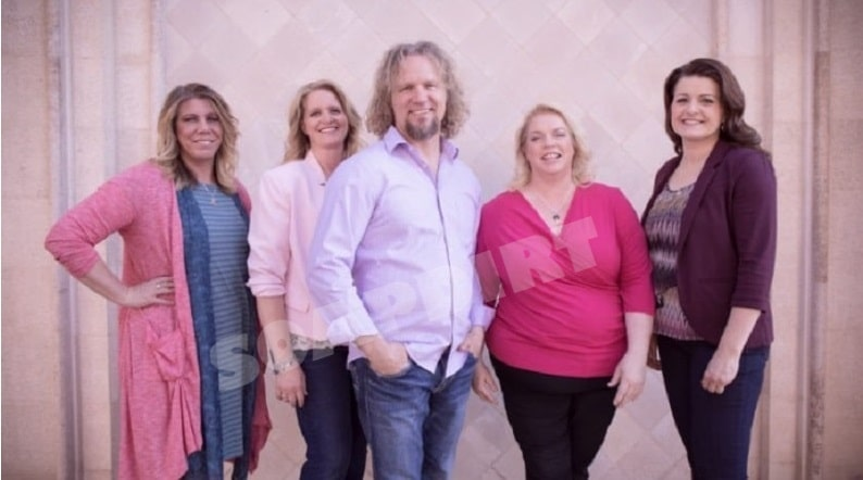 Sister Wives: Meri Brown - Christine Brown - Kody Brown - Janelle Brown - Robyn Brown