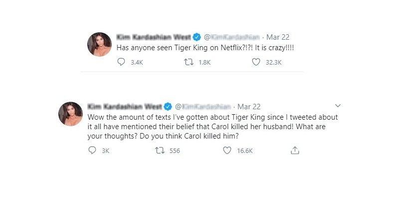 Tiger King: Kim Kardashian