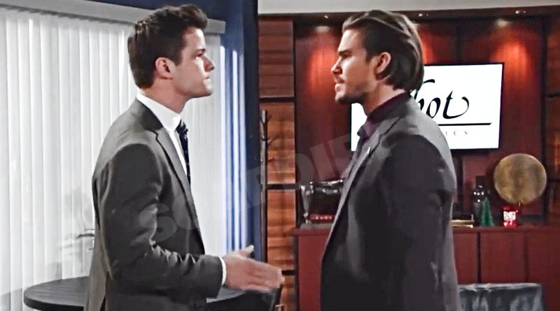 Young and the Restless Spoilers: Kyle Abbott (Michael Mealor) - Theo Vanderway (Tyler Johnson)
