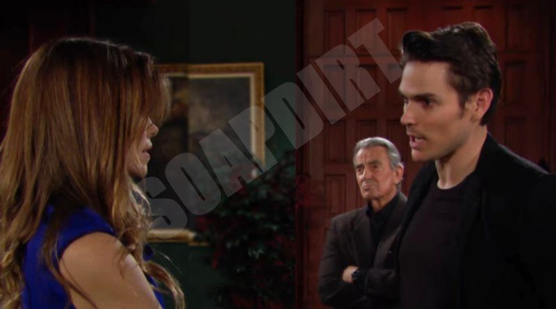 Young and the Restless Spoilers: Adam Newman (Mark Grossman) - Victoria Newman (Amelia Heinle) - Victor Newman (Eric Braeden)
