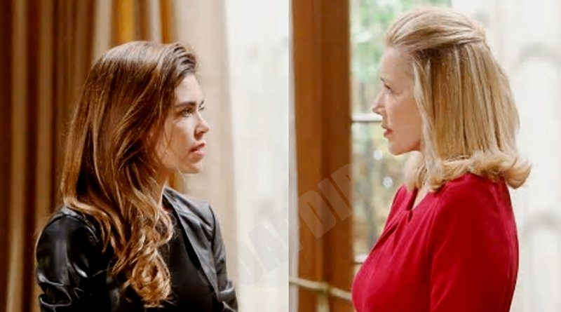 Young and the Restless Spoilers: Victoria Newman (Amelia Heinle) - Nikki Newman (Melody Thomas Scott)