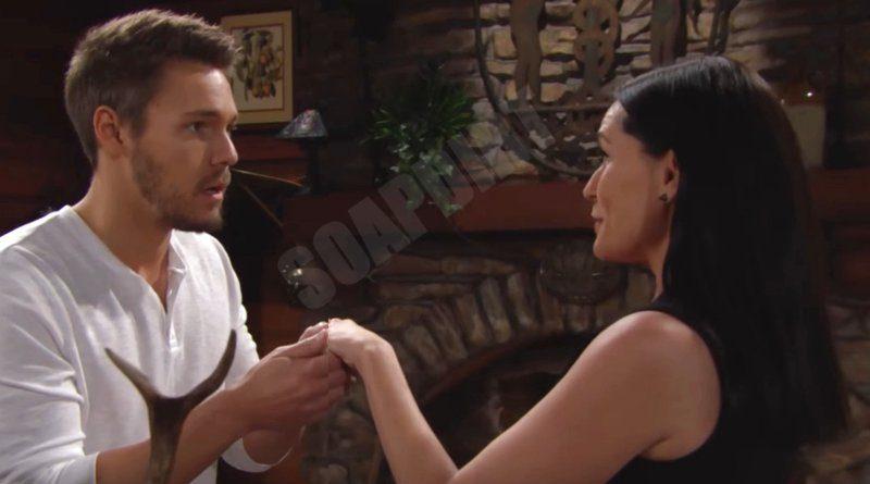 Bold and the Beautiful: Liam Spencer (Scott Clifton) - Quinn Fuller (Rena Sofer)