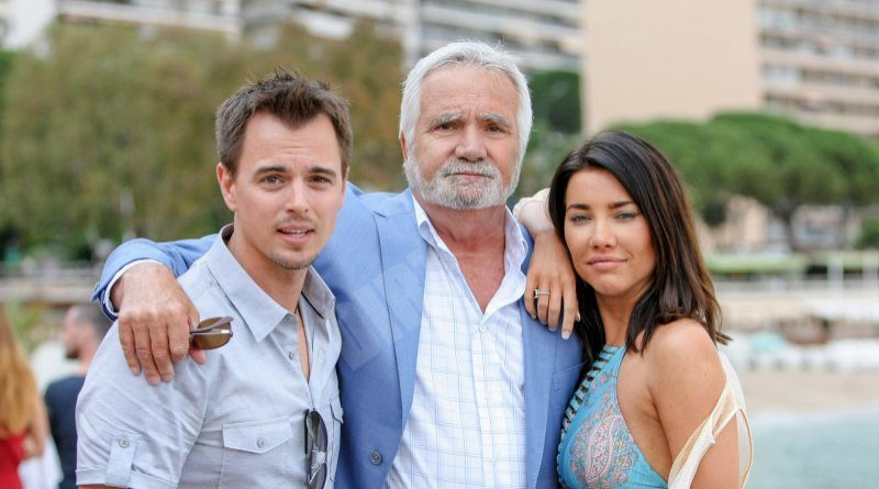 Bold and the Beautiful Spoilers: Wyatt Spencer (Darin Brooks) - Steffy Forrester (Jacqueline MacInnes Wood) - Eric Forrester (John McCook)