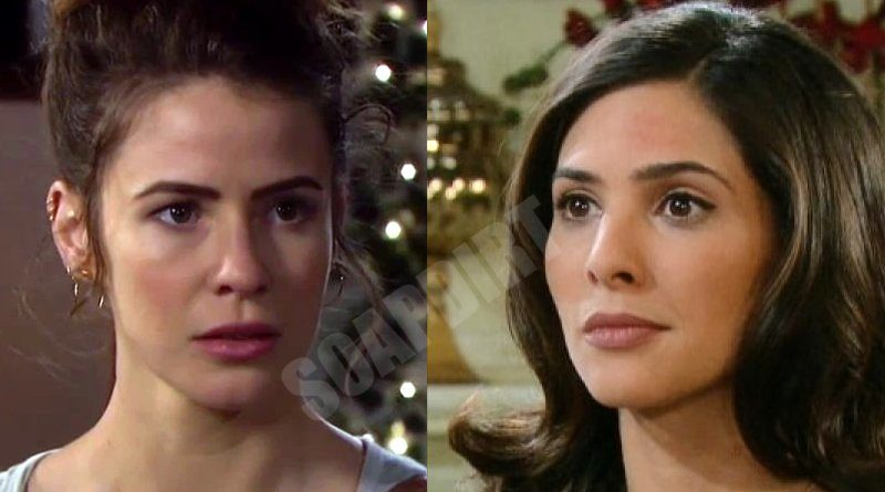 Days of Our Lives Spoilers: Sarah Horton (Linsey Godfrey) - Gabi Hernandez (Camila Banus)
