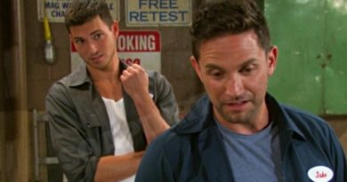 Days of our Lives Spoilers: Ben Weston (Robert Scott Wilson) - Jake Lambert (Brandon Barash)