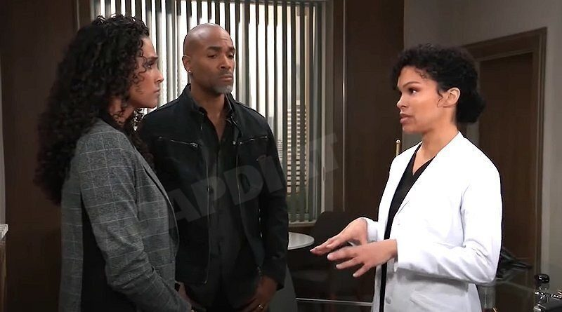 General Hospital Spoilers: Jordan Ashford (Briana Henry) - Curtis Ashford (Donnell Turner) - Portia Robinson (Brook Kerr)