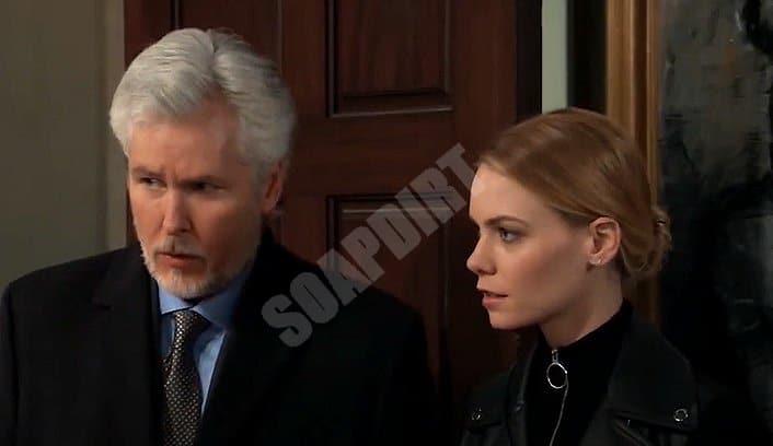 General Hospital Spoilers: Martin Gray (Michael E Knight) - Nelle Hayes (Chloe Lanier)