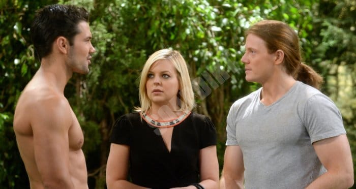 General Hospital Spoilers: Nathan West (Ryan Pavey) - Maxie Jones (Kirsten Storms) - Levi Dunkleman (Zachary Garred)