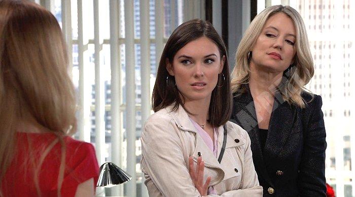 General Hospital Spoilers: Nina Reeves (Cynthia Watros) - Willow Tait (Katelyn MacMullen)