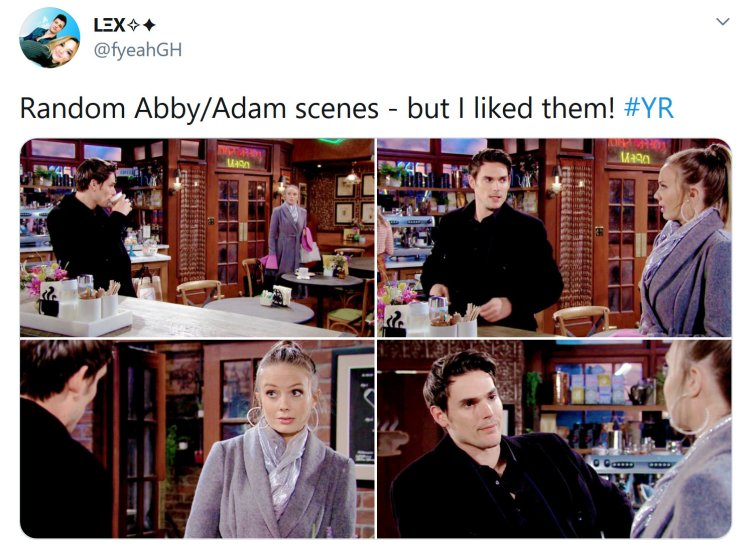 Young and the Restless: Abby Newman (Melissa Ordway) - Adam Newman (Mark Grossman)