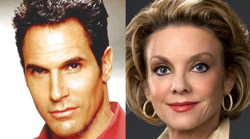 Young and the Restless Comings Goings: Brad Carlton (Don Diamont) - Gloria Abbott (Judith Chapman)