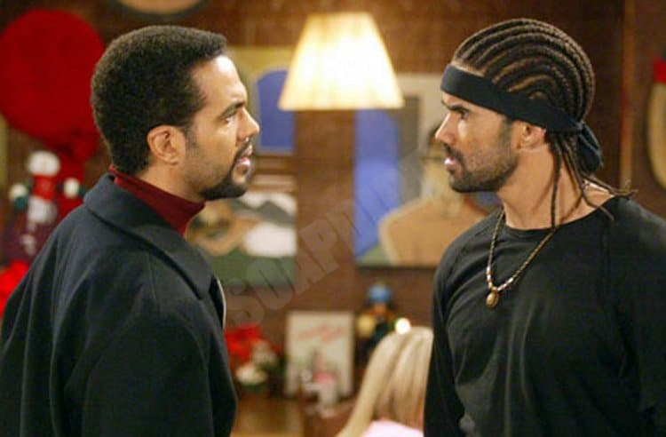 Young and the Restless: Neil Winters (Kristoff St John) - Malcolm Winters (Shemar Moore)