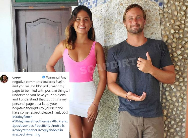 90 Day Fiance: The Other Way - Evelin Villegas - Corey Rathgeber