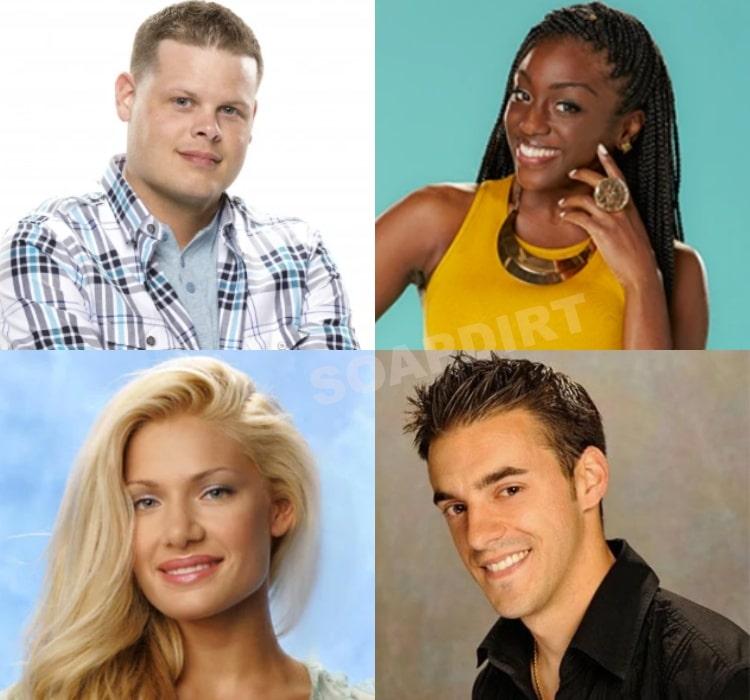 Big Brother 22: Derrick Levasseur - Da'Vonne Rogers - Janelle Pierzina - Dan Gheesling