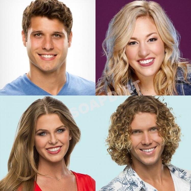 Big Brother: Cody Calafiore - Morgan Willett - Haleigh Broucher - Tyler Crispen