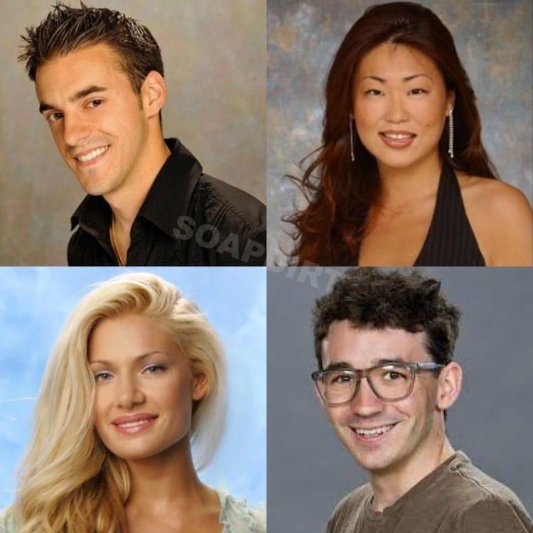 Big Brother; Dan Gheesling - Jun Song - Janelle Pierzina - Ian Terry