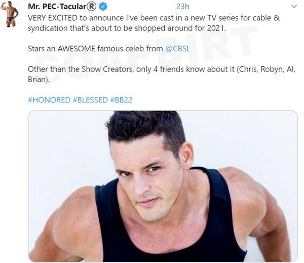 Big Brother: Jessie Godderz (Mr Pec-Tacular)