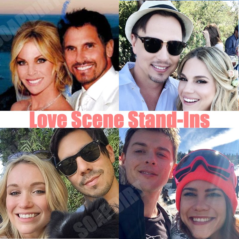 Bold and the Beautiful: Bill Spencer (Don Diamont) - Cindy Ambuehl - Wyatt Spencer (Darin Brooks) - Kelly Krueger - Katrina Bowden & husband - Chad Duell - Courtney Hope