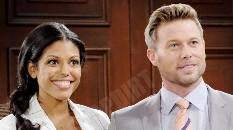 Bold and the Beautiful Comings & Goings: Maya Avant (Karla Mosley) - Rick Forrester (Jacob Young)