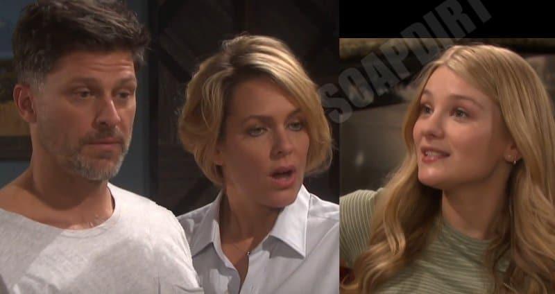 Days of Our Lives Spoilers: Allie Horton (Lindsay Arnold) - Eric Brady (Greg Vaughan) - Nicole Walker (Arianne Zucker)