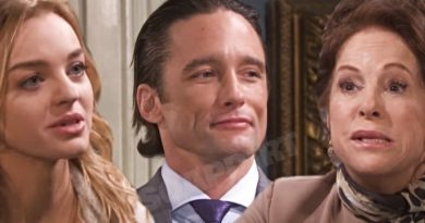 Days of Our Lives Spoilers: Claire Brady (Olivia Rose Keegan) - Vivian Alamain (Louise Sorel) - Philip Kiriakis (Jay Kenneth Johnson)