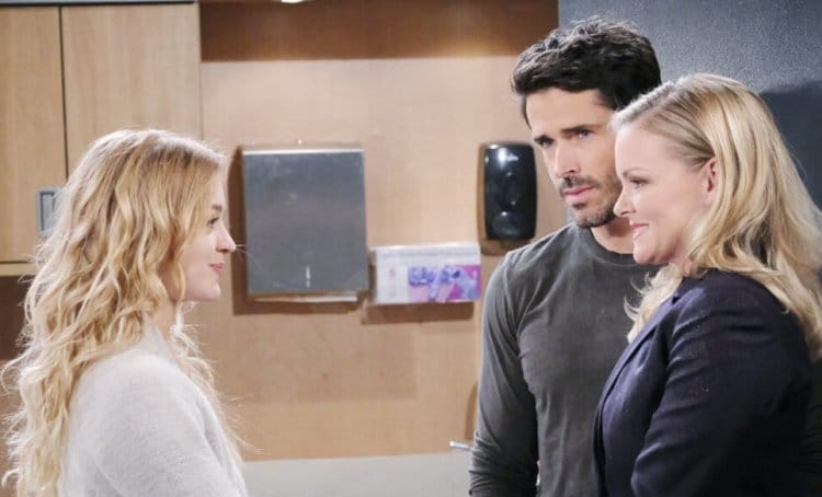 Days of Our Lives Spoilers: Claire Brady (Olivia Rose Keegan) - Shawn Brady (Brandon Beemer) - Belle Black (Martha Madison)
