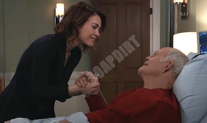General Hospital: Elizabeth Webber (Rebecca Herbst) - Mike Corbin (Max Gail)