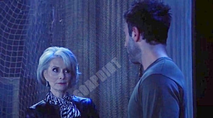 General Hospital: Helena Cassadine (Constance Towers) - Shiloh Archer (Coby Ryan McLaughlin)