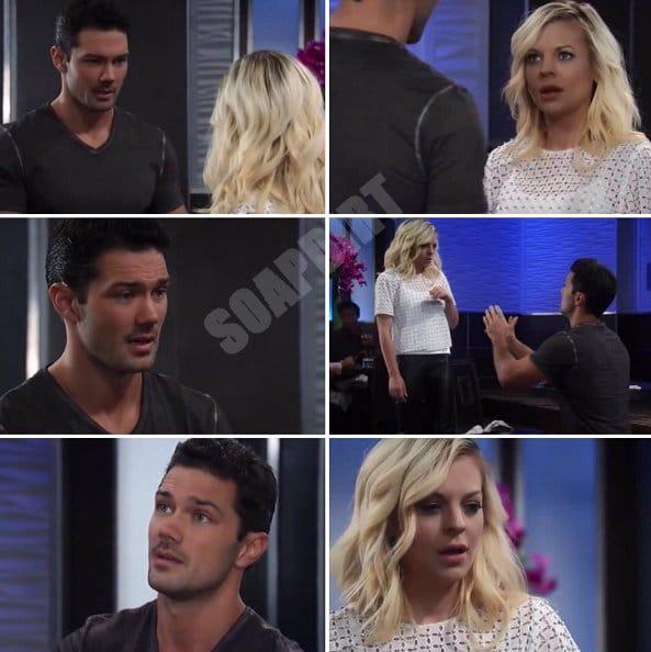 General Hospital: Nathan West (Ryan Pavey) - Maxie Jones (Kirsten Storms)