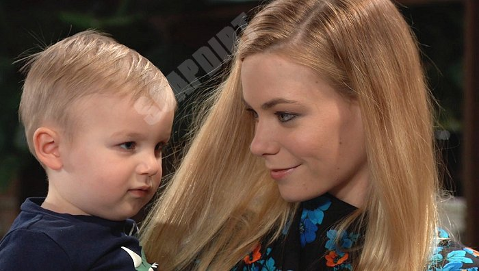 General Hospital: Nelle Hayes (Chloe Lanier) - Wiley Quartermaine Corinthos (Erik And Theo Olsen)