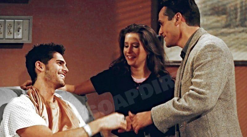General Hospital: Stone Cates (Michael Sutton) - Robin Scorpio (Kimberly McCullough) - Sonny Corinthos (Maurice Benard)