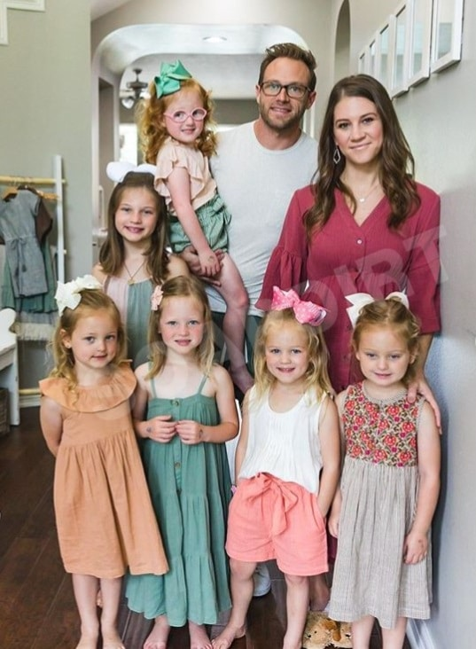OutDaughtered: Adam Busby - Danielle Busby - Blayke - Riley - Hazel - Parker - Ava - Olivia