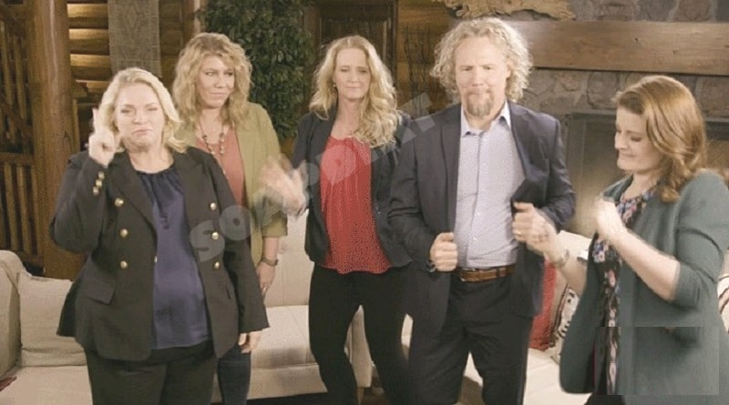 Sister Wives: Janelle Brown - Meri Brown - Christine Brown - Kody Brown - Robyn Brown - Dancing