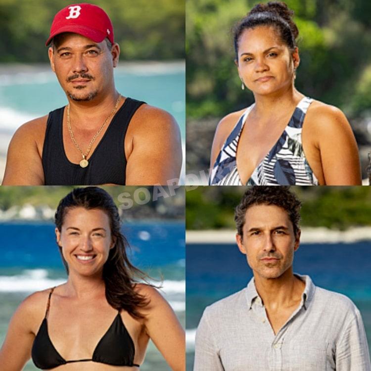 Survivor: Winners at War: Ethan Zohn - Parvati Shallow - Sandra Diaz-Twine - Rob Mariano