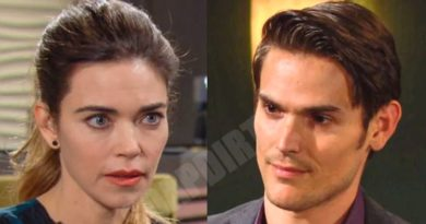 Young and the Restless Comings & Goings: Adam Newman (Mark Grossman) - Victoria Newman (Amelia Heinle)