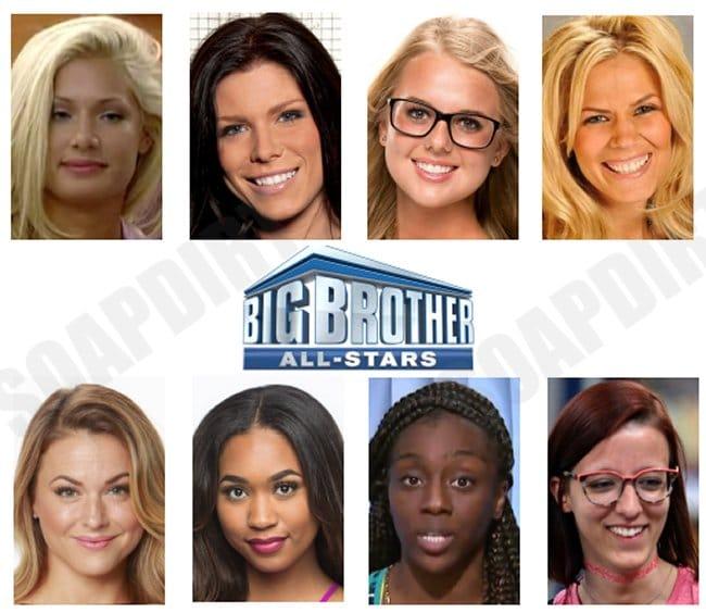 Big Brother 22: All stars Cast - Bayleigh Dayton - Nicole Anthony