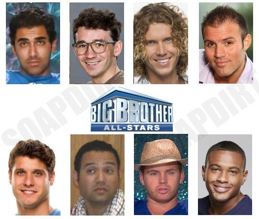 Big Brother 22: All stars Cast - Tyler Crispen - David Alexander