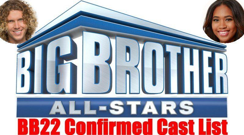 Big Brother 22: All Star Confirmed Cast List - Tyler Crispen - Bayleigh Dayton