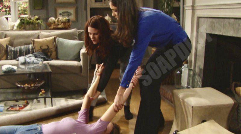 Bold and the Beautiful Spoilers: Flo Fulton (Katrina Bowden) - Penny Escobar (Monica Ruiz) - Sally Spectra (Courtney Hope)